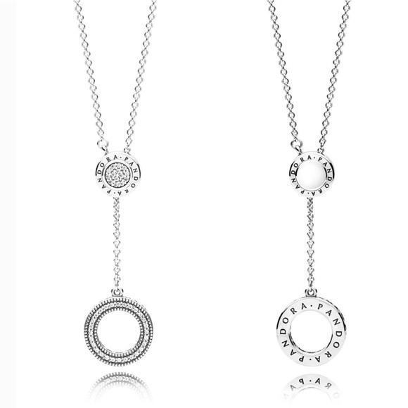 cbdd0f996 New Pandora Signature Necklace. Listing Price: $105.00